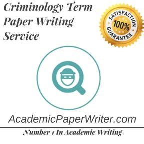 Criminology thesis pccr